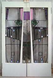 Salon-de-Lux doors (C R Mackintosh)