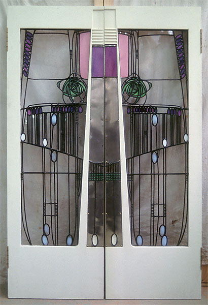 Salon-de-Lux doors (C R Mackintosh) & Cannon | MacInnes :: Image :: Salon-de-Lux doors (C R Mackintosh) Pezcame.Com