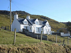 Photo of Rab's house on Lewis